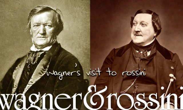 Wagner's Visit to Rossini